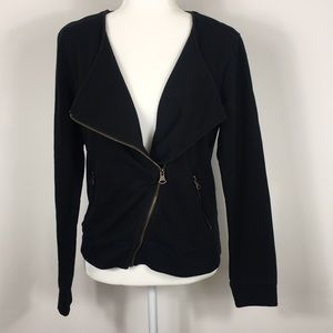 Banana Republic Black Zip Up Jacket